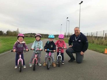 Balance bike coaching returns on the 18th May!