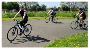 Novice Ladies Cycle Coaching
